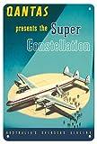 Pacifica Island Art Poster, Motiv, Qantas Empire Airways,