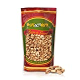 Turkish Antep Pistachios 5 Pounds (80oz) - Premium Quality Kosher Roasted Pistachios By We Got Nuts - Natural & Healthy Rich Flavor Snack - Whole, & Salted – Air-Tight Resealable Bag Package