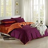 GYCZC Baumwollbettwäscheset Mit Vier Hautfreundlichen Einzelbettdecken Für Doppelbetten