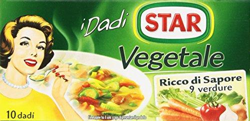 Star Dado Vegetale Ricco di Sapore, 10 Dadi - 100 gr
