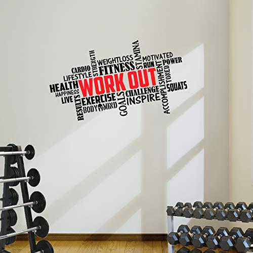 Designdivil muro Art . il Dolore è debolezza Che Lascia Il Corpo. della Decalcomania Motivational Muro Art.
