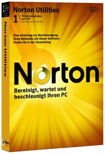 Norton Utilities 15.0 (1 poste, 1 an) [import allemand]