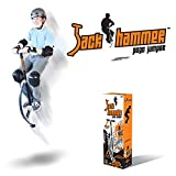 Geospace Jumparoo Jack Hammer Extreme Pogo Jumper by Air Kicks, Small 120-154 Lbs. (55-70 Kgs.)
