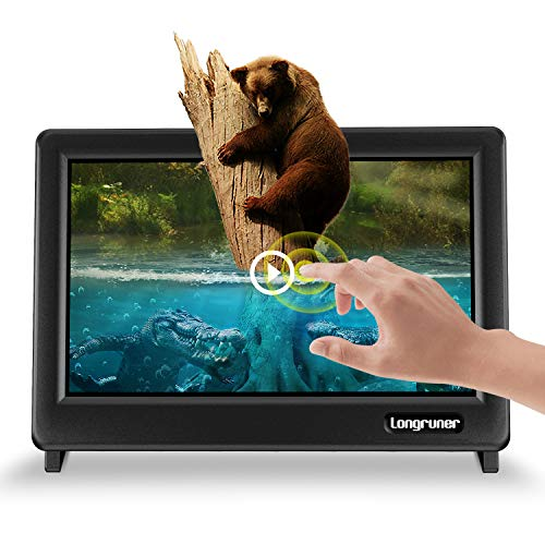 Longruner for Raspberry Pi 4 Touch Screen 7 Inch Zoll Display Monitor 1024X600 LCD TFT HDMI with Protective Gehäuse Case für Raspberry Pi 4 3 2 1 Model B B+ A BB EP711