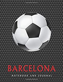 BARCELONA: Daily Diary / journal / notebook to write in and recording your thoughts.