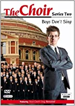 The Choir - Series Two Boy's Don t Sing by Gareth Malone