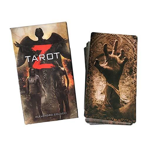 Adminitto88 Tarot Z Deck Cards | 78 Tarot Deck Y Tarot Cards, The Zombie Apocalypse Está sobre Nosotros, Y Tarot Z Es El Mazo Ayudarte A Escapar De Las Garras De Los Muertos Vivientes