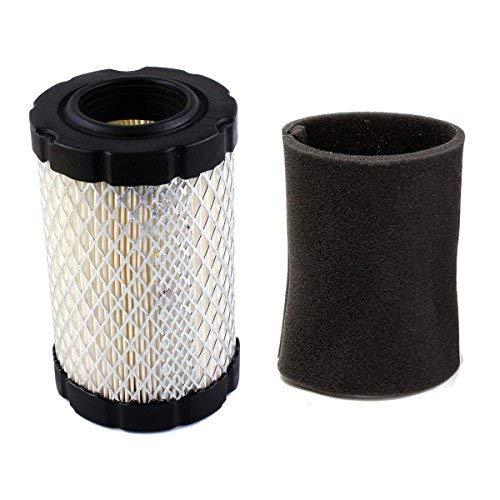 Luftfilter mit Vorfilter für Briggs & Stratton 796031 594201 590825 591334 797704 John Deere MIU1303 GY21435 MIU13963