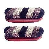 Macaw Shoe Polish Shiner Cleaner Brush Original Hair And Wooden Brush - Set