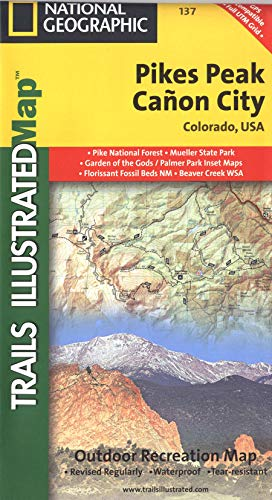 Pikes Peak, Cañon City (National Geographic Trails Illustrated Map, 137)