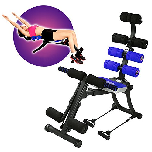 SYOSIN (22 in 1 Foldable Ab Exercise Machine Gym Trainer Whole Body Exercise Equipment