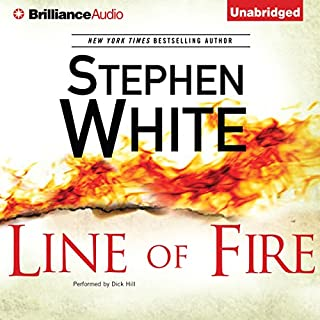 Line of Fire audiobook cover art