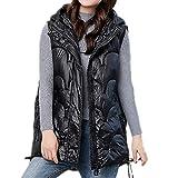 Chaleco de algodón de la chaqueta de las señoras chaleco chaleco chaqueta exterior desgaste suelto de la mitad de longitud de otoño e invierno