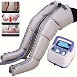 DXFK.AM Leg Massager Air Pressure Wave Physical Therapy Promote Blood Circulation Pain Relief Apoplexy Hemiplegia Massage,4 Chamber