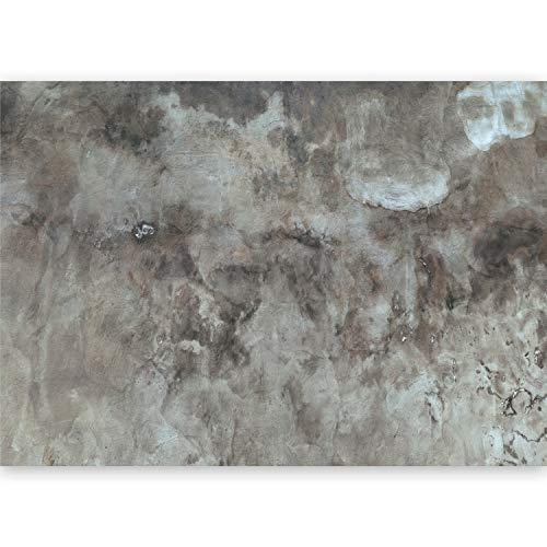 murando - Fototapete XXL Betonoptik 500x280 cm Vlies Tapeten Wandtapete XXL Moderne Wanddeko Design Wand Dekoration Wohnzimmer Schlafzimmer Büro Flur Textur grau f-A-0485-a-b