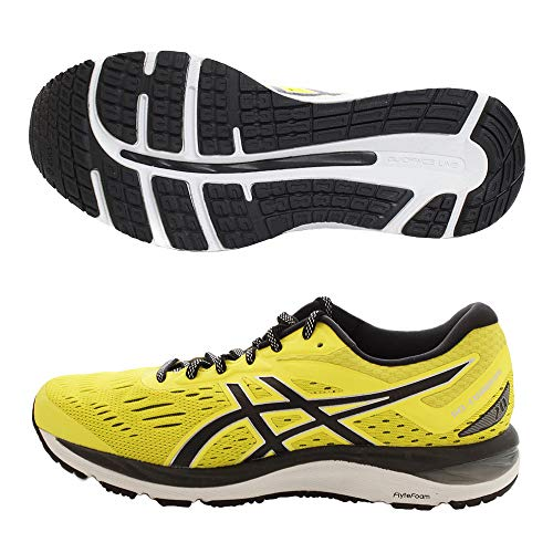 Asics Men's Gel-Cumulus 20 Running Shoes, Yellow (Lemon Spark/Black 750), 11 UK