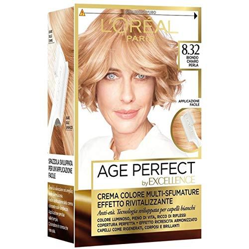 Haarfärbemittel Excellence Age Perfect 8,32 hellblonde Perle
