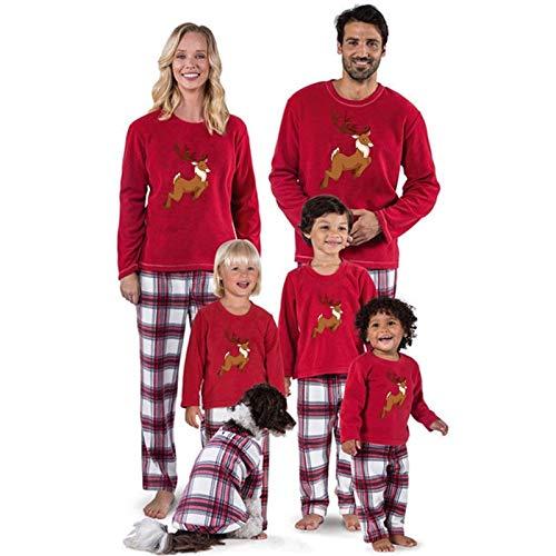 Rcsinway Elternkind Weihnachten Europäische und amerikanische Weihnachtsdrucken...