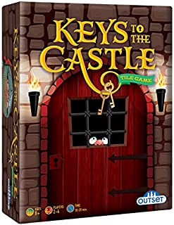 Outset Media - Keys to the Castle - Race Your Fellow Knights Through the Castle in this Fast Paced Strategy Card Game - Ages 8+