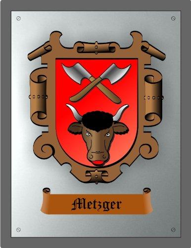 Zunftschild Metzger Fleischer (36 x 28 cm)