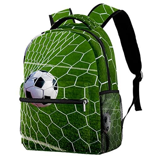 Z&Q Mochila Niño Fútbol Mochila Niño, Material Escolar para Niños, Mochilas Escolares Juveniles 29.4x20x40cm