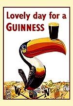 Guinness Poster, Lovely Day for a Guinness, Tucan, Weather Vane