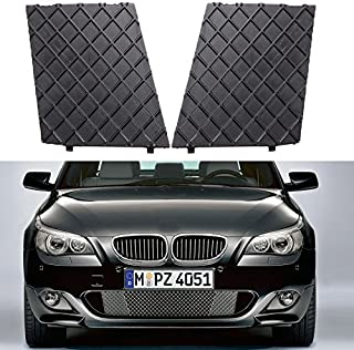 YUK Left&Right Front Bumper Cover Lower Mesh Grill Trim for 2003-2010 BMW E60 E61 M Sport Package Grille (Left &Right)