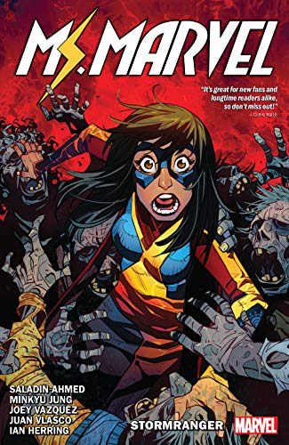 Amazon.com: Ms. Marvel by Saladin Ahmed Vol. 2: Stormranger ...