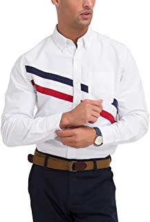 U.S. Polo Assn. Mens Solid Oxford Long Sleeve Woven...