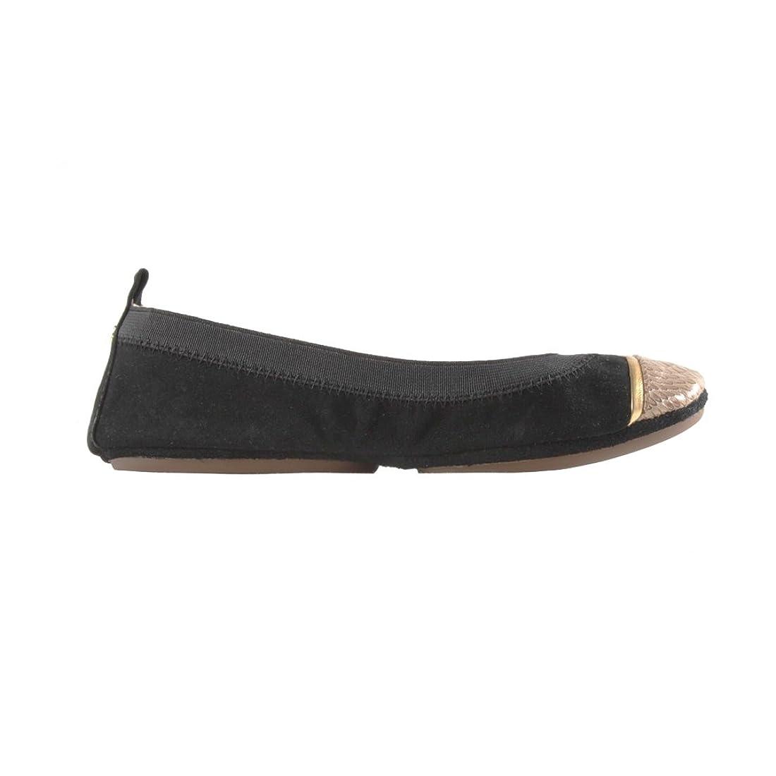 先住民クライストチャーチお互い[Yosi Samra] レディースSamara Sybilスエード靴ブラック/Latte