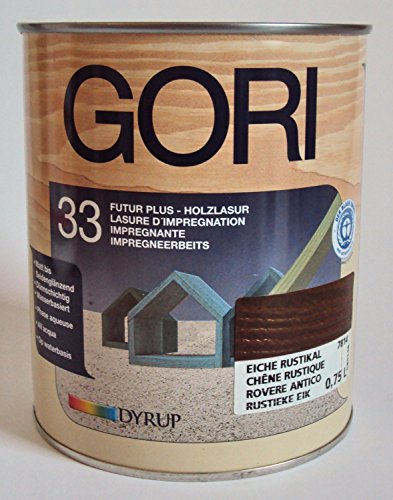 Gori 33 Futur Plus Holzlasur, 2,25 Liter / Farbton Eiche Rustikal Nr. 7814