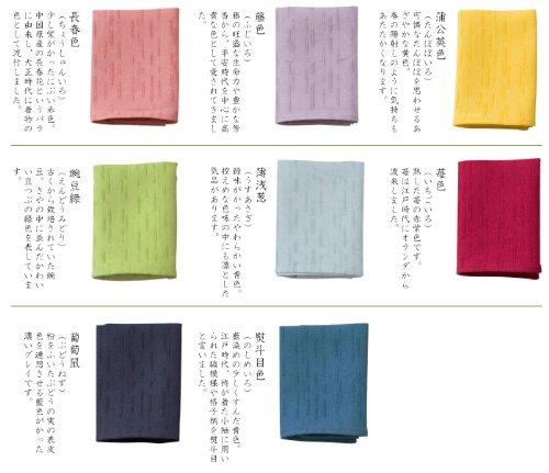 <風雅すたいる>【和紙の繊維100%】あぶらとりハンカチ(薄浅葱(水色))