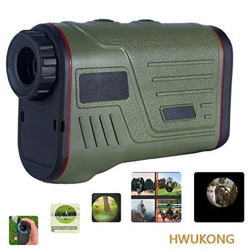 HWUKONG Campo De La Caza del Telémetro con La Pendiente, Laser Range Finder con Pendiente De Compensación, Adquisición De Tecnología, Scan, Pulso Vibración Y Sistema De Enfoque Rápido