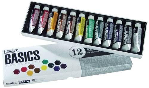 Liquitex BASICS 12 Acrylic Paint Set