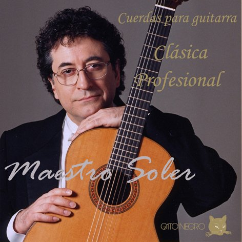 Juego de cuerdas Gato Negro Maestro Soler para guitarra concierto