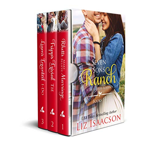 Seven Sons Ranch: 3 Christian Cowboy Family Saga Romances (Seven Sons Ranch in Three Rivers Boxed Set Book 1) (English Edition)
