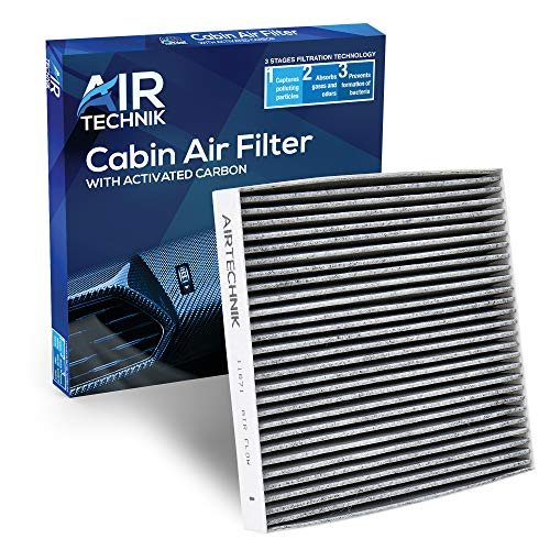 AirTechnik CF11671 Cabin Air Filter w/Activated Carbon | Fits Mazda CX-9 2007-2012 / Dodge Ram 2016-2021