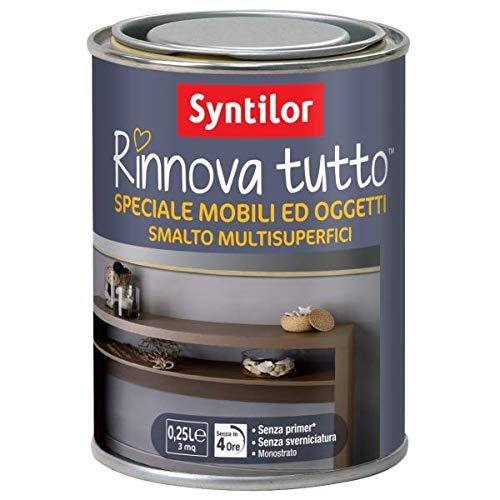 SMALTO RINNOVA TUTTO SPECIALE MOBILI - 0,5 L - COLORE: BIANCO METALLIZZATO