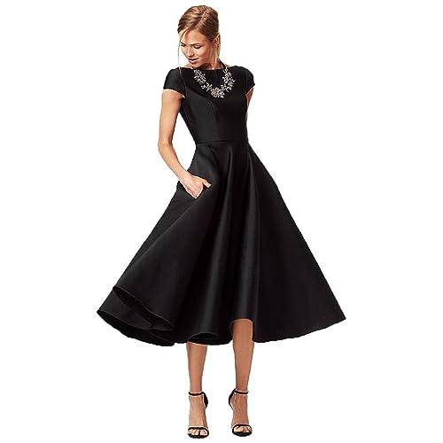 Tea Length Evening Dresses Amazon Com