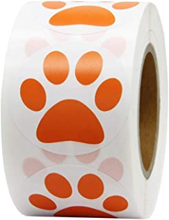 Best orange dog paw print Reviews