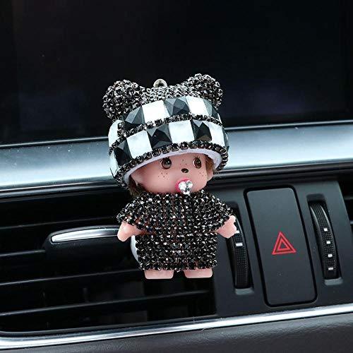 SGXDMxx Mengqiqi auto uitgang aroma auto airconditioning air clip auto parfum parfum auto accessoires dames 8
