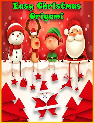Easy Christmas Origami: How to Make Christmas Origami | The Great Big Easy ORIGAMI Book for Kids | Origami Made Simple, Origami kit japanese | Christmas Origami for Kids