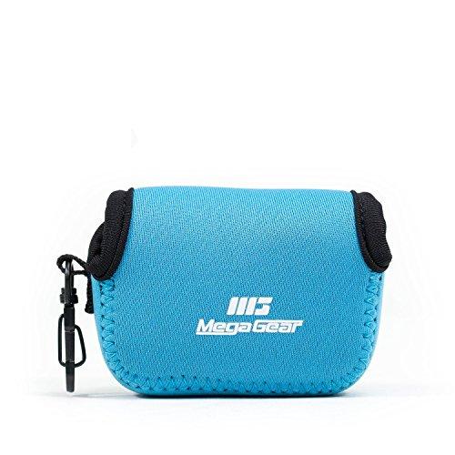 MegaGear Ultraleichte Kameratasche aus Neopren-Marterial für GoPro, GoPro HD, GoPro Hero3 +, GoPro Hero 4, Sj4000 (Blau)
