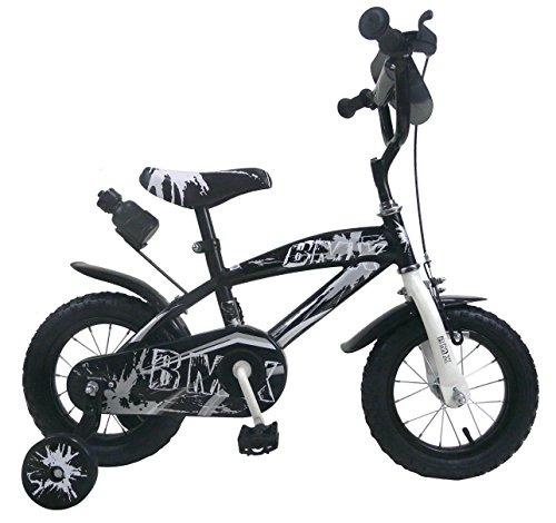 Mediawave Store Bicicletta BMX Baby Taglia 12 Bici per Bambini 510170 età 2-5 Anni