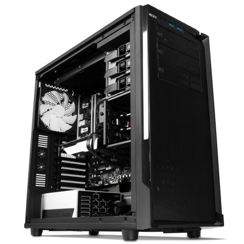 NZXT Source 530 Full Tower Computer Case, Black (CA-SO530-M1)