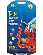 Tinti 520153 - Zauberbad 3-Pack (bolas de baño en rojo, azul, amarillo) [Importado de Alemania]
