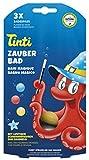 Tinti Zauberbad 3er Pack (Badeblle in rot, blau, gelb)