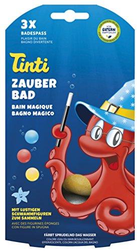 Tinti 520153 - Zauberbad 3-Pack bolas baño rojo