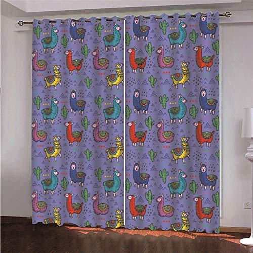 cortinas habitacion matrimonio violeta