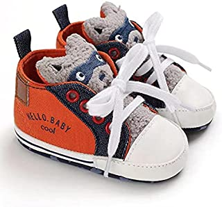 Mix & Max shoes for boys synthetic fiber 9/12 Month -Orange